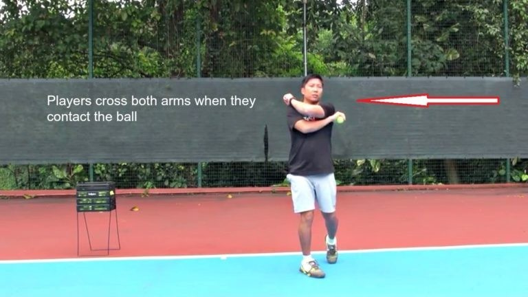 Forehand Mistakes Cross Arms