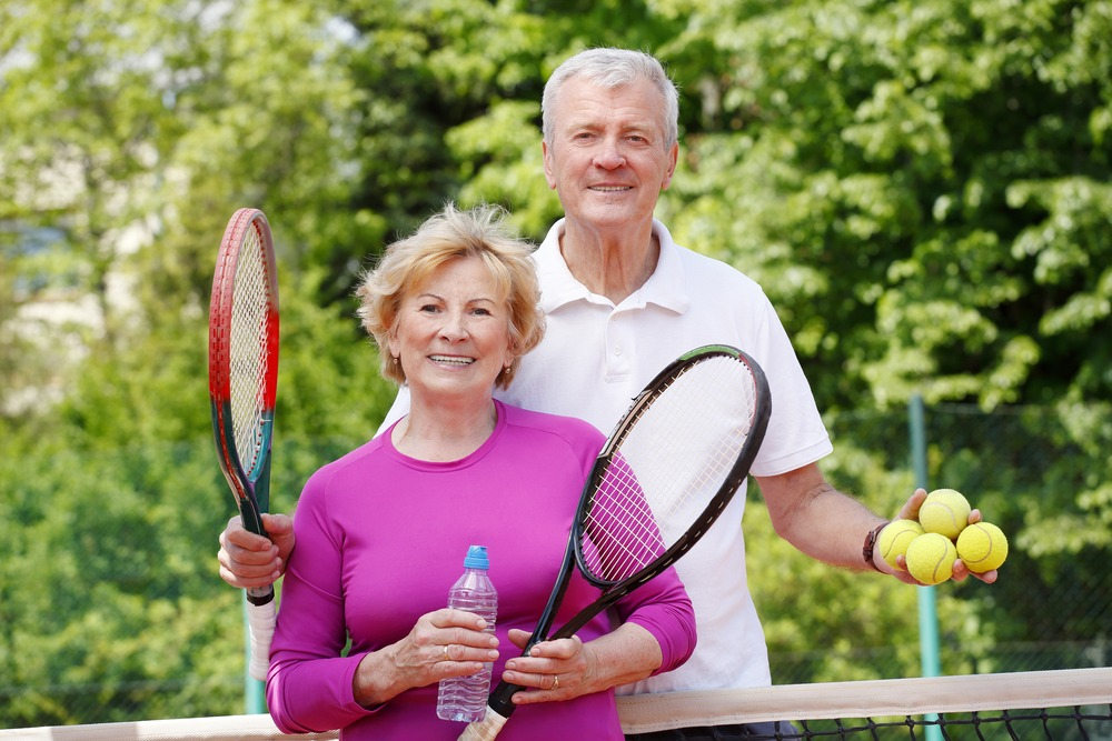 Learning to Play Tennis late in Life, Never Too Old to Start Tennis